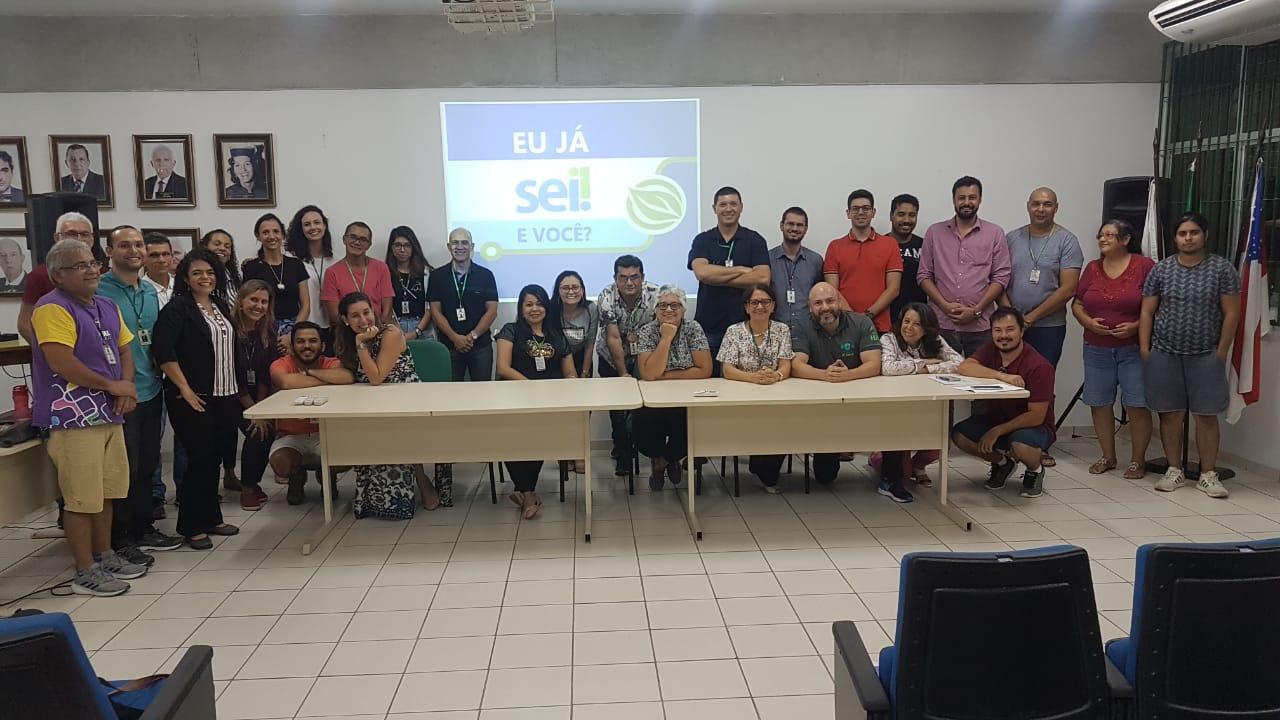 Comissão SEI/UFAM visita Unidades Acadêmicas (capital)